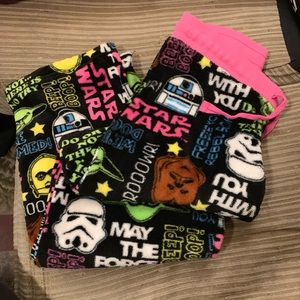 Star Wars pj pants sz M